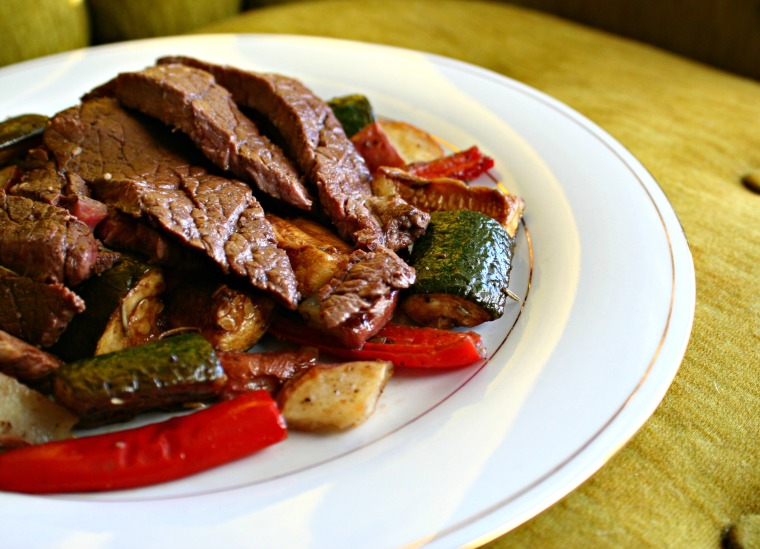 how to make marinated roasted vegetables