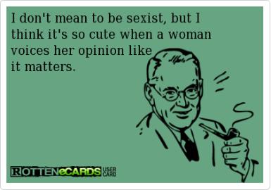 sexist post