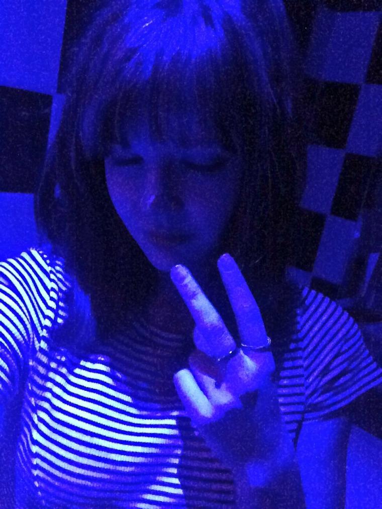 rave bathroom